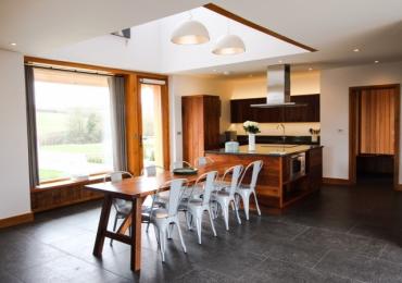 The Grain Store - Kitchen & living room