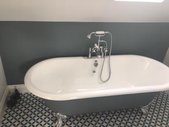 Master Bathroom Bath