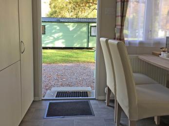 Superior 2 bedroomed Sierra Caravan Entrance Door width