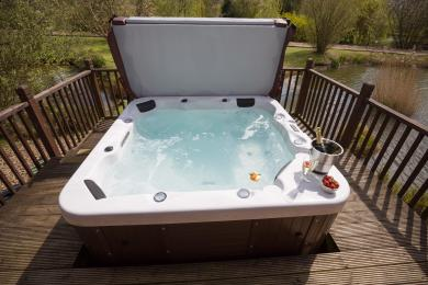 Private Hot Tub on verandah