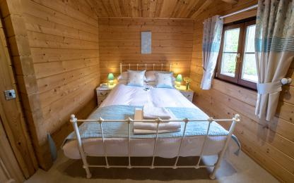 Second bedroom - Wagtail and Heron Lodges