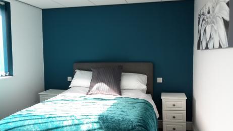 Bumble bedroom.
