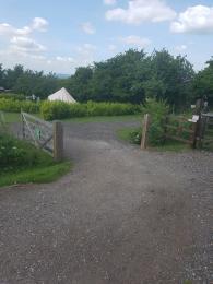 Entrance to Kits Coty Glamping