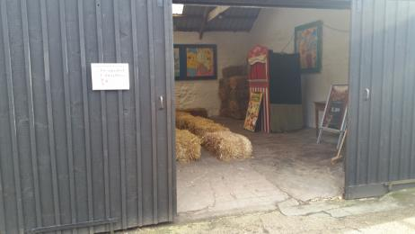 Entrance to Puppet Show Barn