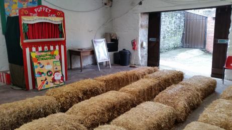 Inside the Puppet Show Barn