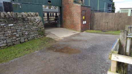 Gravel Path to the Donkeys