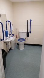 Disabled Toilet - Inside