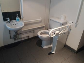 Accessible Toilet in Main House