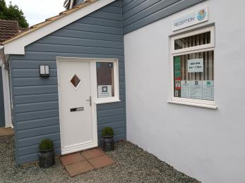 Door to Reception