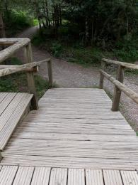 Go Ape! decking ramp