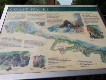 Information about coast walks