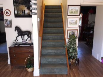 Stairs to Marwood bedroom