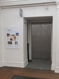 Great Charles St lift is only accessible within the museum and art gallery. It is at the rear of the building.