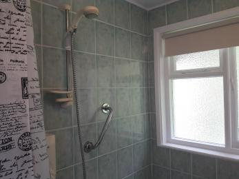 Wall mounted shower