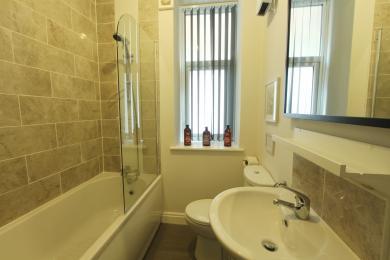 Bathroom in Swing Apartment