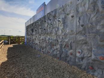 Climbing Wall area