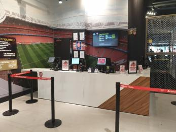 Stadium Tour Ticket Desk