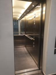 Interior view of lift