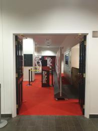 Exit Doors from Exhibition Room