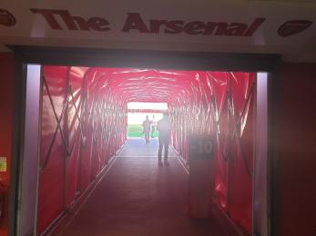 Entrance to Pitchside