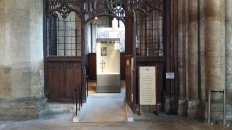 Treasury entrance