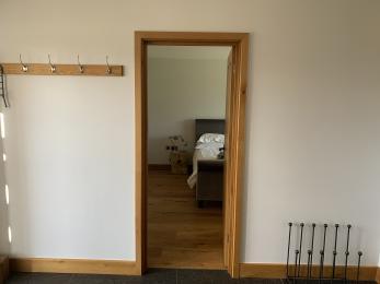 The Cart Shed - Doorway into ground floor bedroom