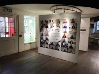 Temporary exhibition on the ground floor