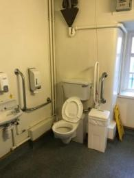 Ground floor accessible toilet