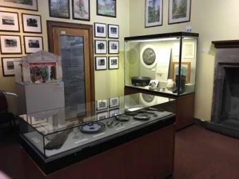 Lower ground floor: Robert Louis Stevenson display