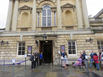The Roman Baths main entrance