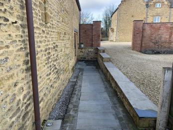 The Cottage - Pathway to door