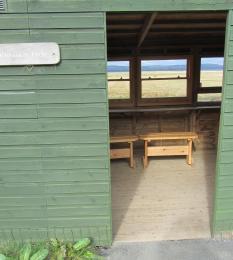 Waterson hide door