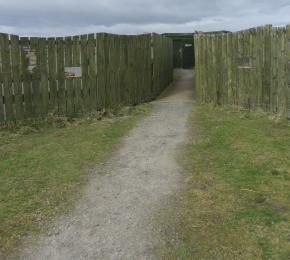 Path to Carden hide