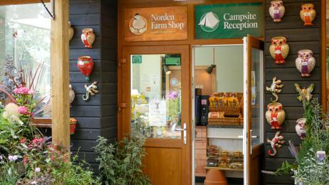 Main Reception/ Farm Shop Entrance