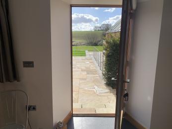 The Cottage - Door to garden