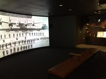 Introductory film in Operation Bomber Command Gallery