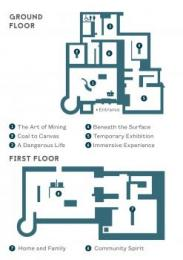 Floor Plan of Gallery