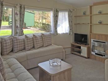 Accessible Caravan Open plan Lounge