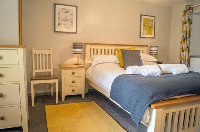 Ground floor master bedroom with ensuite