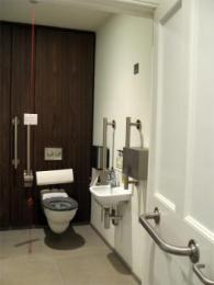 Accessible lavatory interior