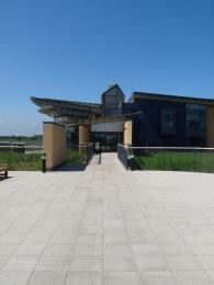 Visitor centre from the front