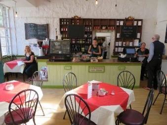 Arkwright's Café Counter