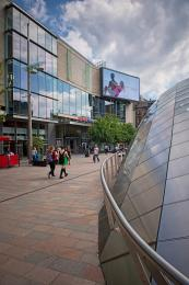 St. Enoch Square Entrance (Next to St. Enoch Subway)
