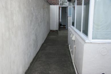 Back yard walkway 1290mm wide