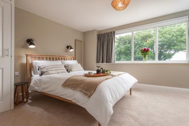 Saltwater Cottage Master Bedroom