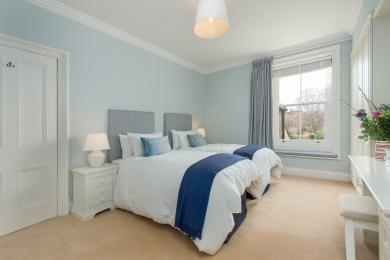 Twin Bedroom for Heron House