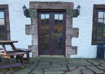 The Beltie Byre Self Catering Cottage Front Door