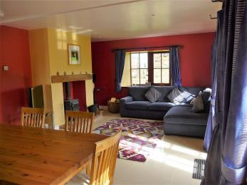 The Beltie Byre Self Catering Cottage Open Plan Lounge Area