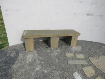 Bench 2 at the Listening Wall