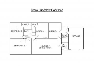 Brook Bungalow Floor Plan